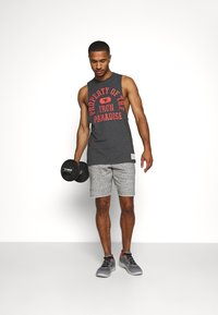 Under Armour - PROJECT ROCK SHORTS - Sports shorts - grey - 1