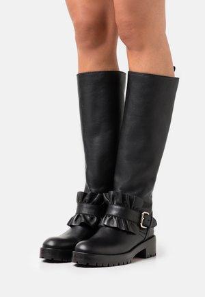 RIDING BOOT - Cowboy/Biker boots - nero