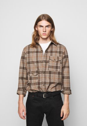 ARMY SHIRT - Shirt - brown