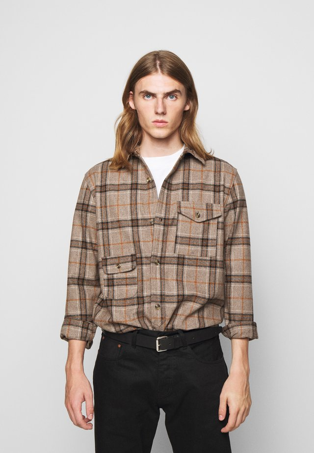 ARMY SHIRT - Koszula - brown