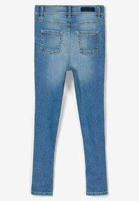 Name it - HIGH WAIST SKINNY FIT - Jeans Skinny Fit - light blue denim - 1