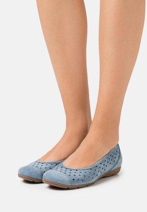 Bailarinas - jeans