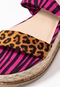Public Desire - FRESCA - Platform sandals - multicolor - 2