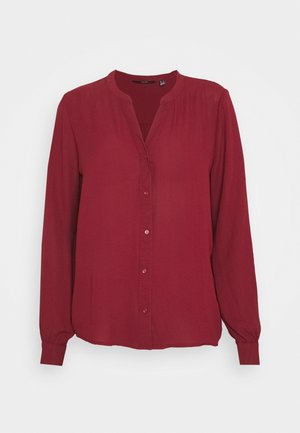 VMISABELLA NORMAL SHIRT  - Blouse - cabernet