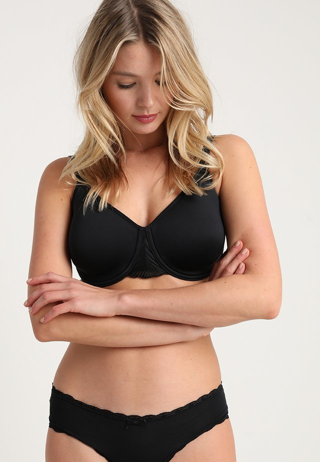 MY PERFECT SHAPER - T-skjorte-BH - black