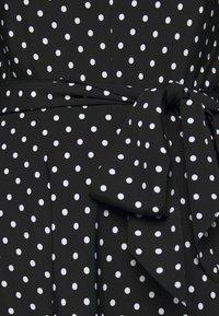 Lauren Ralph Lauren - Denní šaty - polo black/white - 4