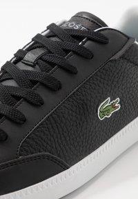 Lacoste - GRADUATECAP - Sneakers basse - black/grey - 5