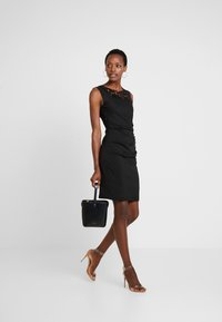 Kaffe - INDIA VIVI DRESS - Shift dress - black deep - 1