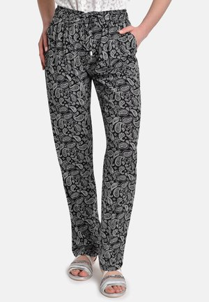 Spodnie treningowe - black-white