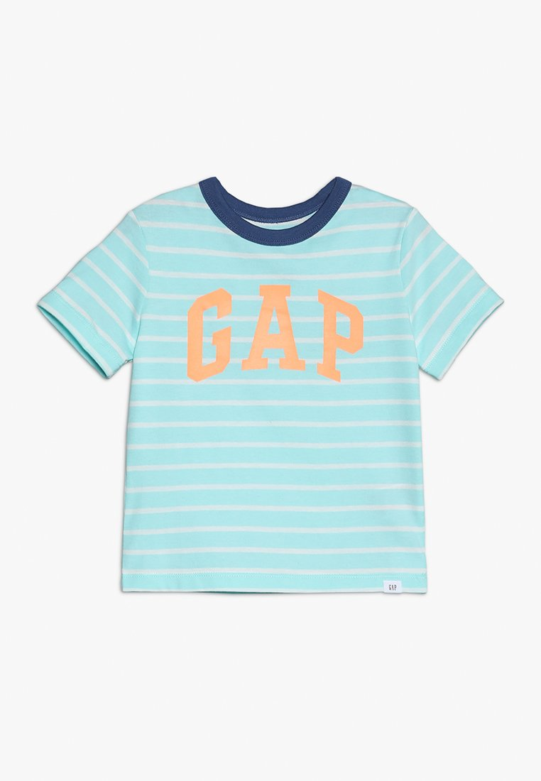 GAP - TODDLER BOY LOGO - T-shirt z nadrukiem - aqua