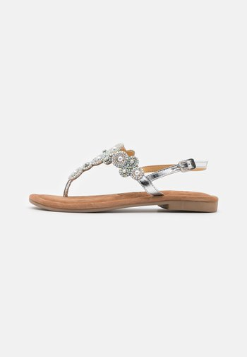 Infradito - silver glam