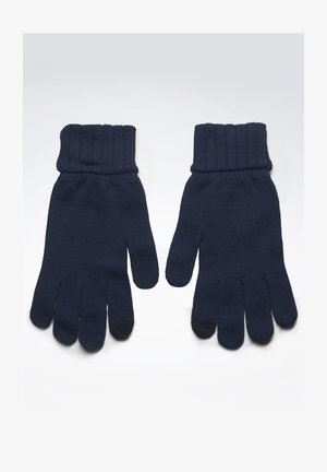 ACTIVE FOUNDATION KNIT GLOVES - Rękawiczki pięciopalcowe - blue