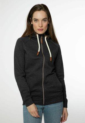 GRACYE - Sweater met rits - true black