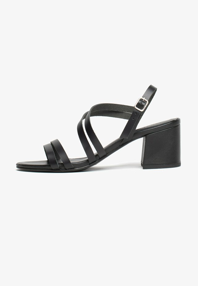 KACHINA - Sandały na obcasie - black
