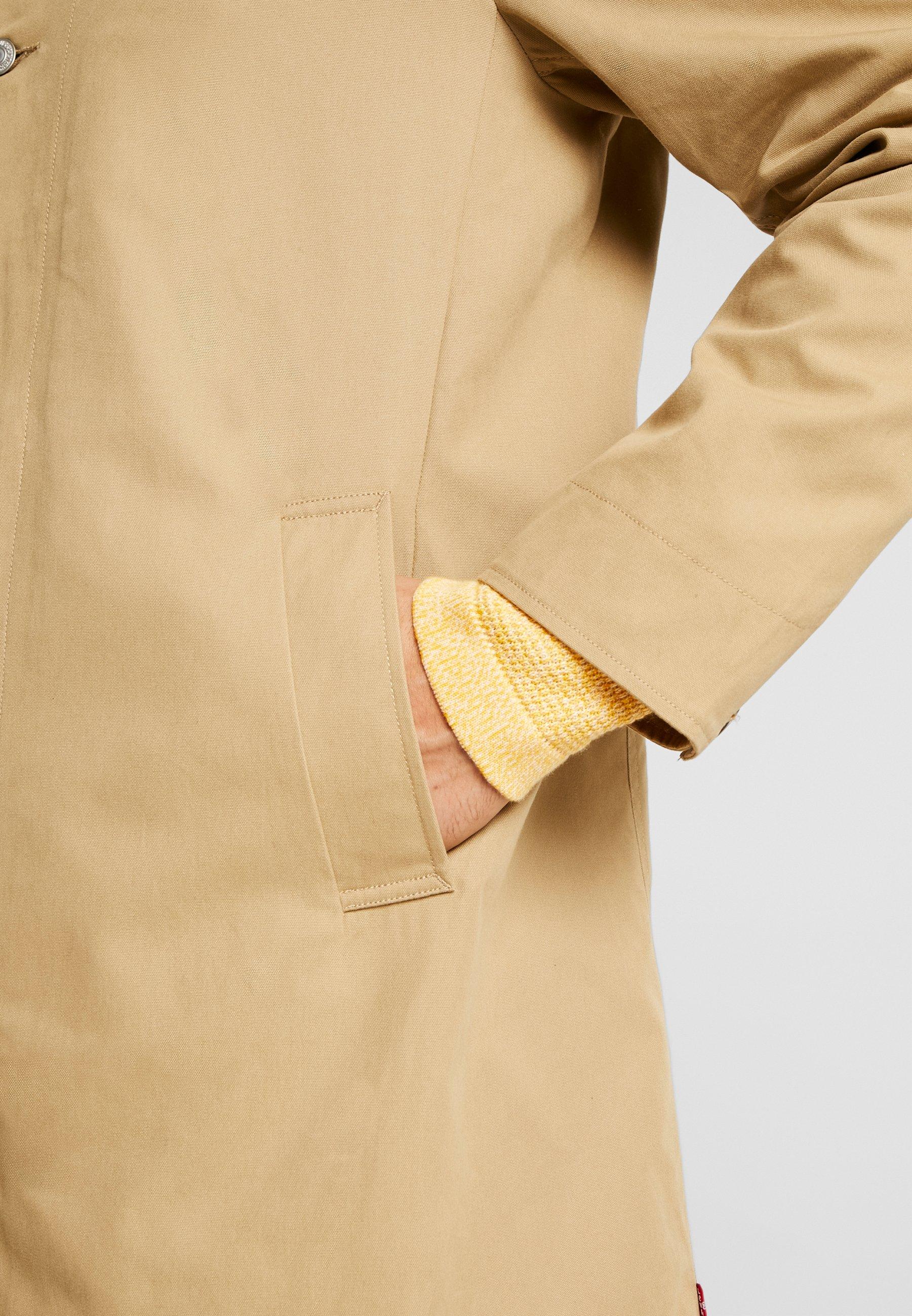 Levi's® LONG UTILITY COAT - Manteau court - harvest gold