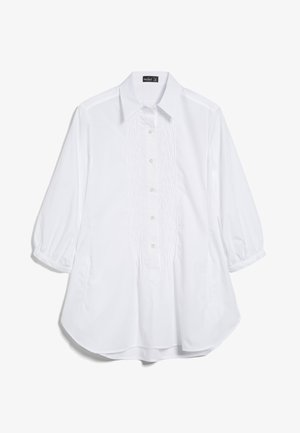M-AMU - Button-down blouse - weiß
