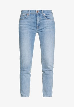 ROXANNE ANKLE - Straight leg jeans - light blue