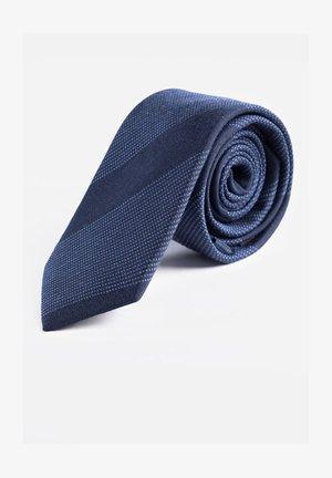 MET INGEWEVEN DESSIN - Slips - dark blue