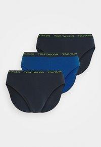 TOM TAILOR - BRIEF 3ER PACK - Briefs - blue dark - 0