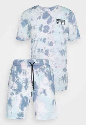 SET - Pantalones deportivos - blue