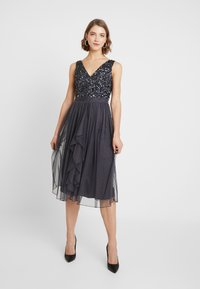 Sista Glam - MELODY - Cocktail dress / Party dress - charcoal - 0
