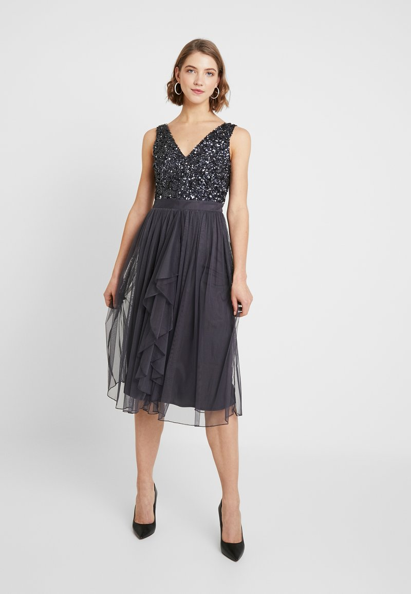 Sista Glam - MELODY - Cocktail dress / Party dress - charcoal