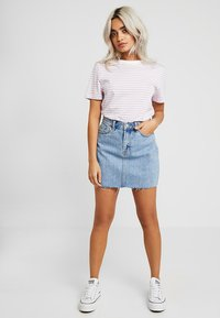 Dr.Denim Petite - MALLORY - Denim skirt - light retro - 1