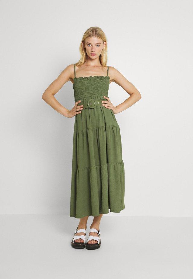 Sukienka letnia - khaki