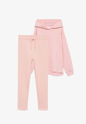 SET - Trousers - hellrosa