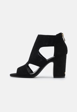 HELLI - High heeled sandals - black