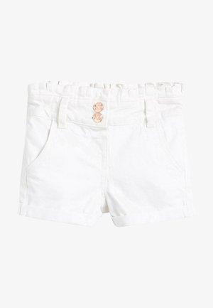 Jeansshort - white