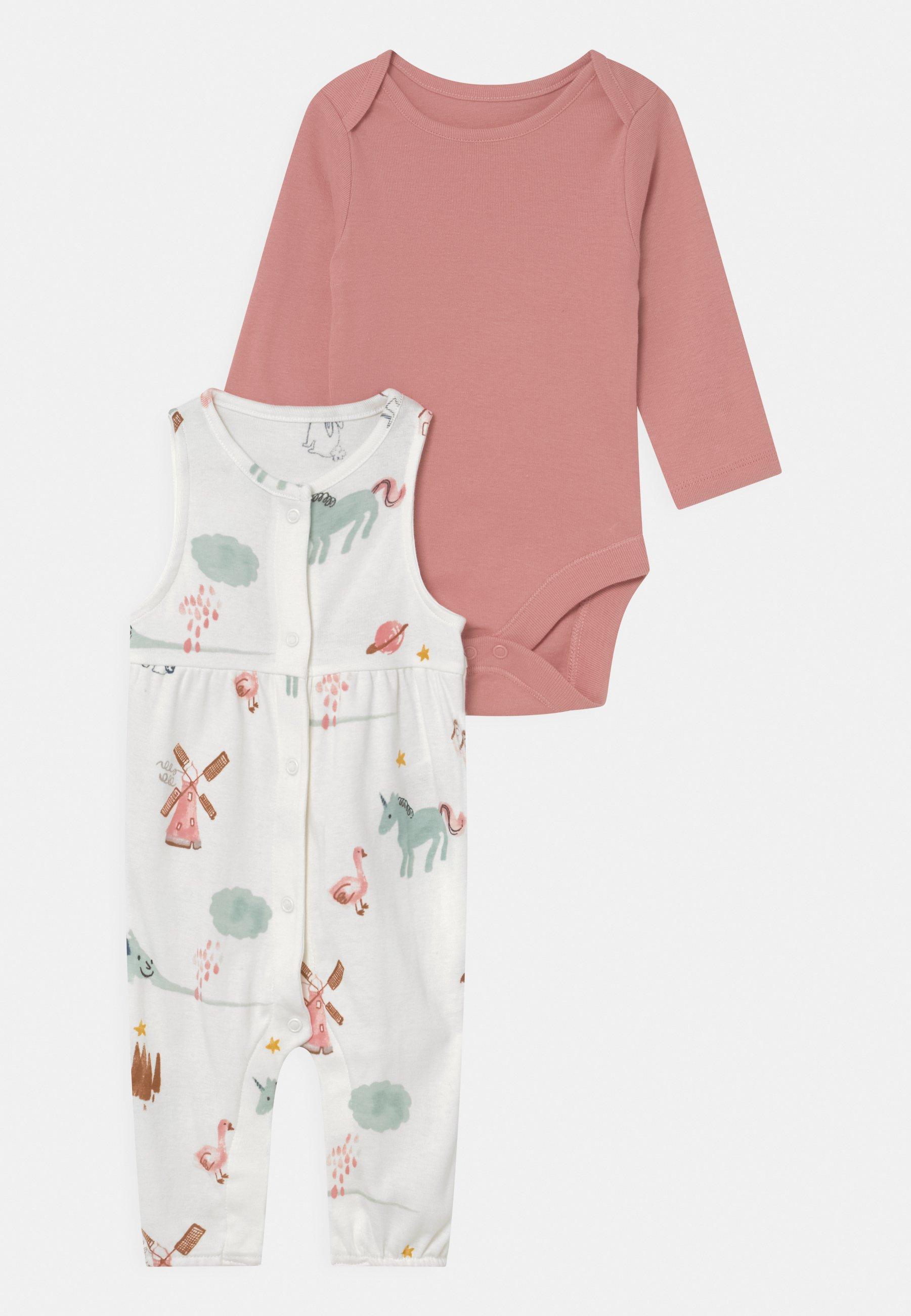 Kinder BABY SIMPLE SET - Langarmshirt