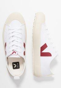 Veja - NOVA - Sneaker low - white/marsala - 3