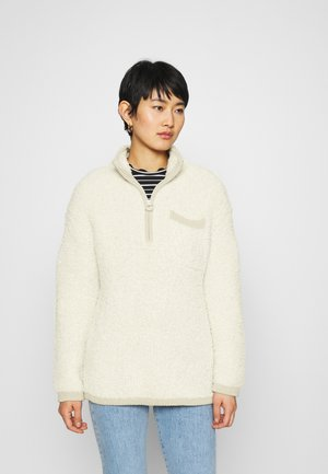 QUARTER ZIP - Pullover - natural