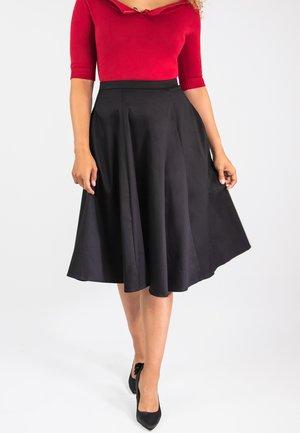 MATILDE CLASSIC  - A-line skirt - black
