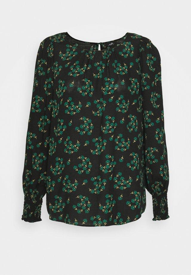 FAN FLORAL - Blouse - green