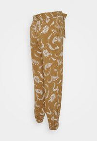 Glamorous Bloom - CUFFED TROUSERS WITH TIE BELT - Bukser - brown - 1