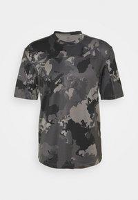 adidas Performance - AEROREADY TRAINING SHORT SLEEVE TEE - Camiseta estampada - grey four - 4