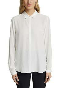 Esprit Collection - TOUCH ECO - Button-down blouse - off white - 5