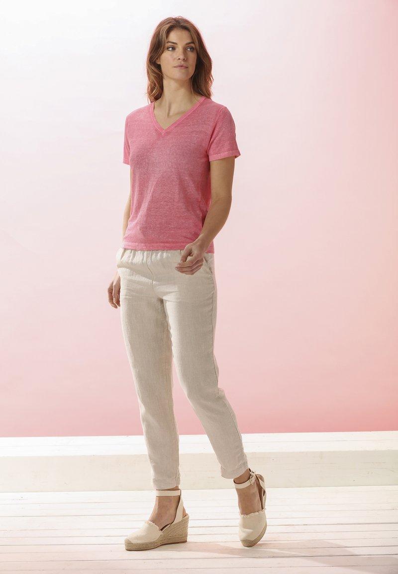Rosa & Me - Print T-shirt - pink lemon