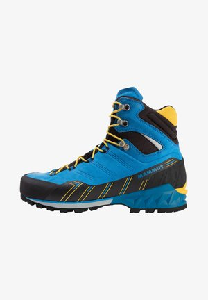 KENTO GUIDE HIGH  - Mountain shoes - dark gentian-freesia