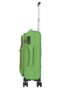 Hardware - AIRSTREAM  - Wheeled suitcase - bright green - 3