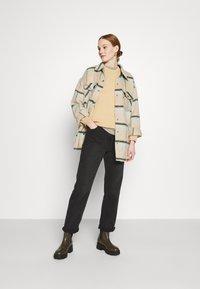 American Eagle - KEY ITEM CREW  - Sweatshirt - golden - 1