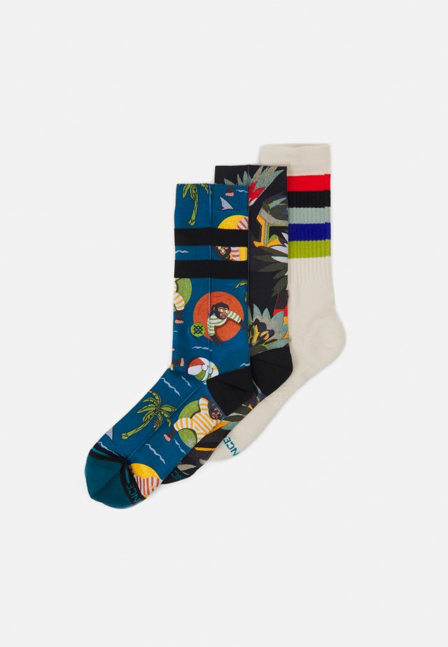 TROPICAL 3 PACK - Calcetines - multi