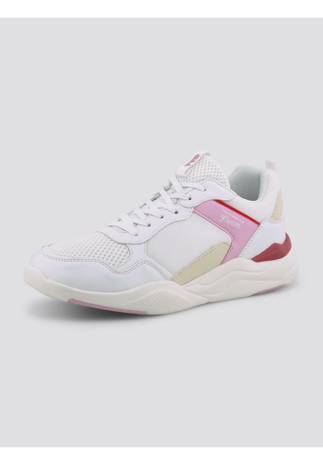 8095601 - Sneakers laag - white-pink-red