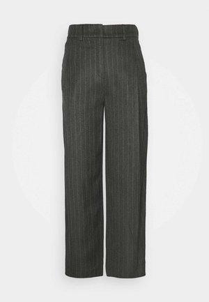 Spodnie materiałowe - titan