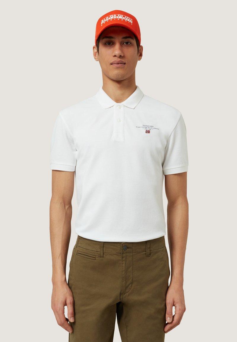 Napapijri - ELBAS - Poloshirt - white