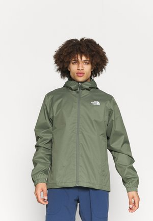 MENS QUEST JACKET - Hardshell jacket - mottled dark green