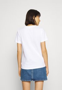 Calvin Klein - CORE LOGO - Print T-shirt - bright white - 2
