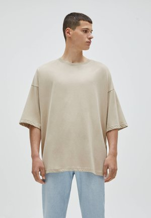 LOOSE - T-shirt - bas - beige